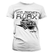 Officially Licensed Flash Gordon- War Rocket Ajax Women T-Shirt S-XXL Sizes