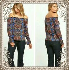 South Ladies Floral Gypsy style top size 20 **LESS THAN 1/2 PRICE** LAST FEW**