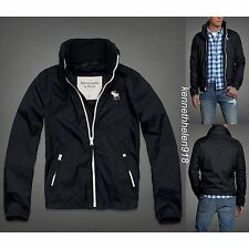 NWT ABERCROMBIE & FITCH MENS DUN BROOK MOUNTAIN JACKET NAVY SIZE XL A&F