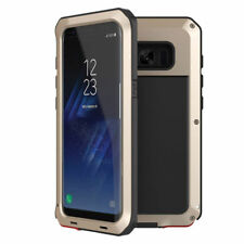 Aluminum Shockproof Metal Case Cover For Samsung Galaxy S8 Plus Screen Protector