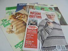 Knitting Machine Pattern Books PICK a Book Modern Machine,Brother,Singer,Lemair