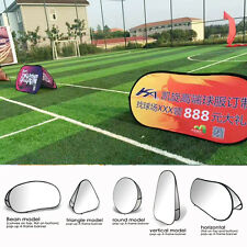 Custom Double-Sided Fabric Banners Baseball Match Sport Sign +Hardware included