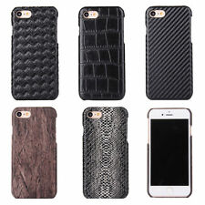 Luxury Ultra-thin Leather Hard Back Case Cover Skin For iPhone 7/7 Plus 6 5s SE