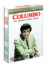 COLUMBO COMPLETE SERIES 4 DVD All Episodes Forth Season New UK Sealed R2 Release