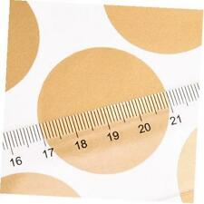 gold polka dot stickers circle wall decals peel and stick removable sticker