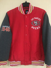 San Francisco 49ers Men's Polyester/Fleece Mid-weight Jacket by G-III  NFL Lic