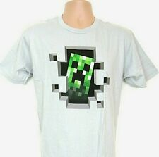 Minecraft T-shirt Mens Large Creeper