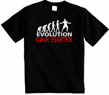 Cage Fighter T-Shirt|  Evolution of Cage fighting Unisex tshirt MMA UFC