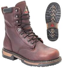 NEW Men's Rocky IronClad Insulated 400G Waterproof Leather Work Boots FQ0005694