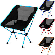 Portable Folding Chair Beach Seat Outdoor Stool Seat Hiking Fishing Picnic BBQ