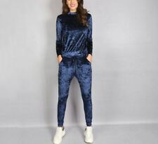 Women Suit Slim Fit Sweatsuit Set 2 Two Piece Velour Set Hoodie And Pants