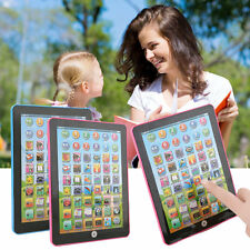 Tablet Pad Computer For Kid Children Learning English Educational Teach Toy BG