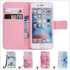 Cute Leather Wallet Cards Holder Stand Case Cover Magnet Flip For Various Phones