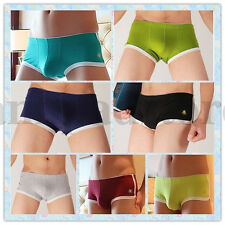 New Style Sexy Bee Embroidery Comfty cool Underwear Mens Boxer Brief Underpants