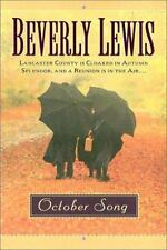 The Heritage of Lancaster County: October Song by Beverly Lewis (2001, Hardcover