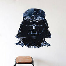 Darth Vader Star Wars Wall Decal and Star Wars Removable Wall Decal Mural a86