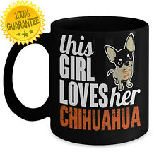 NEW Dog Lover Chihuahua Mom Puppy Supplies Ceramic Coffee Mug Tea Cup Wife Gift