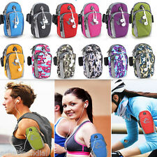 Outdoor Sport Jogging Arm Band Zipper Bag Wrist Pouch Cell Phone Holder Key Case