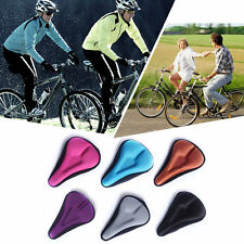 Silica Gel Bike Seat Bicycle Saddle Mat Comfortable Cushion Seat Cover A34 BO