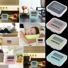 Large LCD Digital Kitchen Cooking Timer Count-Down Up Clock Loud Alarm BO