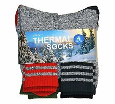 Soxnet Eco Recyled Cotton Thermals Boot Socks 4 Pairs (Multi Stripe)