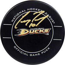 Steiner Corey Perry Signed Official NHL Anaheim Ducks Game Puck (AJ Sports Auth)