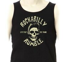 Débardeur ROCKABILLY RUMBLE - Marcel Rock'n'Roll Rockers Teddy Boy Ducktail Hair