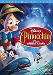 Pinocchio (DVD, 2009, 2-Disc Set, 70th Anniversary Platinum Edition) Speedy Ship