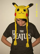 POKEMON Inspired HAT~U CHOOSE SIZE & STYLE~Pikachu~Jigglypuff~Squirtle~Pokeball