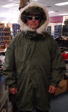 US MILITARY USGI EXTREME COLD WEATHER ECW M-65 FISHTAIL PARKA, LINER, HOOD NEW