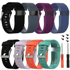 Large Replacement Strap Band Wristband + Tool For Fitbit Charge HR Tracker Watch