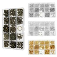 Jewelry Making Starter Kit Earring Craft DIY Tool Findings Component Storage Box