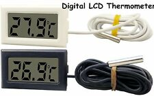 NEW LCD Digital Thermometer for Fridge/Freezer/Aquarium/FISH TANK Temperature #B