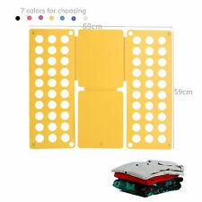 Clothes T-Shirt Folder fast Folding Board Flip Fold For Adult Child Laundry #B