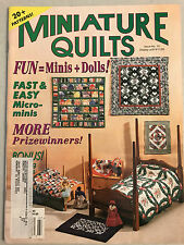 Miniature Quilts Magazine - Past Issues 1994 - 1997 - Quilt Patterns