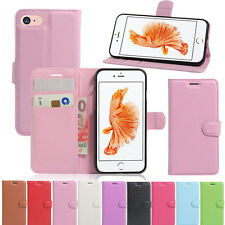 Luxury Magnetic Card Pouch Leather Folio Protetcor Case Cover For Apple iPhone 7