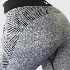 Leggings Yoga Gym Pants Fitness Sports Women Stretch Workout Athletic Comfort