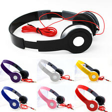 3.5mm # Stereo Girls Boy Headphones Earphones Game Headset for iPad iPod DVD MP3