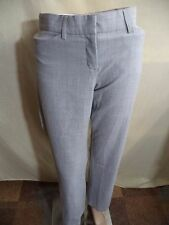 Express Editor or Studio Dress Pants Poly Sz 0: Black Or Brown Pinstripe Or Gray