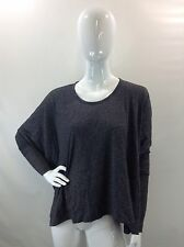 NWT PJK Patterson J. Kincaid Gray Sweatshirt Top Blouse Size XS S L