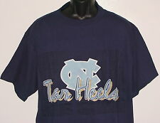 Vintage 90's UNC Carolina TARHEELS THE GAME T-Shirt NCAA Blue NWT NEW Old Stock