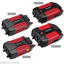 300W 500W 1000W 1500W Car Power Inverter 12V DC-110V AC Sine Wave USB AC Outlet