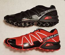 AUTHENTIC SALOMON SPEEDCROSS-3 MENS TRAIL RUNNING SHOES (Black or Red available)