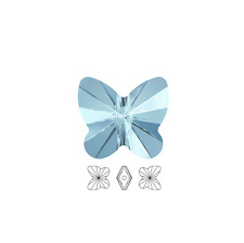 12 Swarovski Crystal Beads Faceted Butterfly 5754 6x5mm, 12 Butterfly 5754 6x5mm