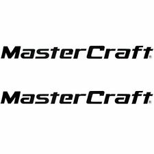 """MASTERCRAFT Large 5 X 50"""" side DECALS for Tow/ Ski Boat"""