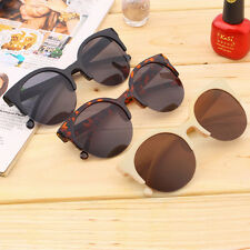 NEW Retro Lens Vintage Men Women Round Frame Sunglasses Glasses Eyewear BG