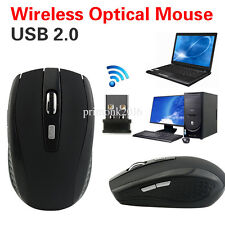 2.4GHz Wireless Cordless Optical Mouse Mice +USB Receiver F PC Laptop Multicolor