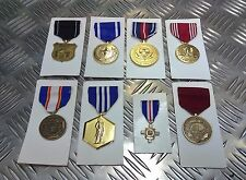 Genuine USA Forces / Services Coast Guard National guard Navy Medal Assorted