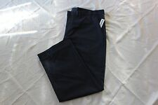 OLD NAVY KHAKI PANTS MENS STRAIGHT CLASSIC NAVY COLOR SIZE 33X30 ZIP FLY NWT
