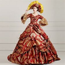 Victorian Medieval Renaissance Costume Dress Marie Antoinette Theater Ball Gown